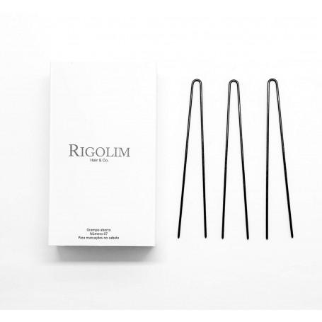 Grampo aberto número 07 caixa com 40un Rigolim Hair & Co