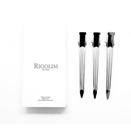 Clipe de metal número 07 caixa com 06un Rigolim Hair & Co